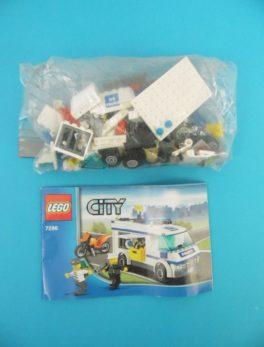 LEGO CITY - 7286 - Transport de prisonniers