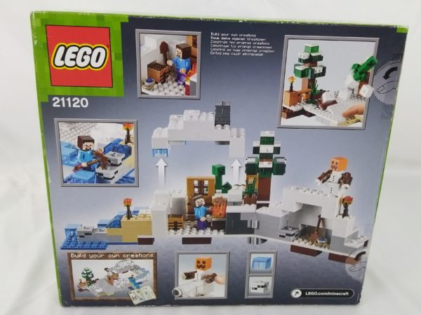 LEGO MINECRAFT - 21120 - La cachette dans la neige