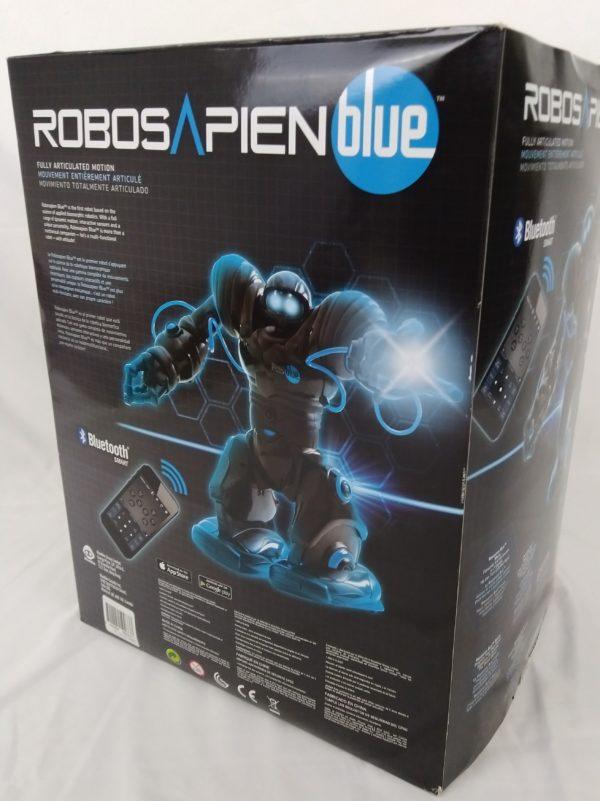 Robotsapien - bluetooth - wowwee - RS Blue - Black édition