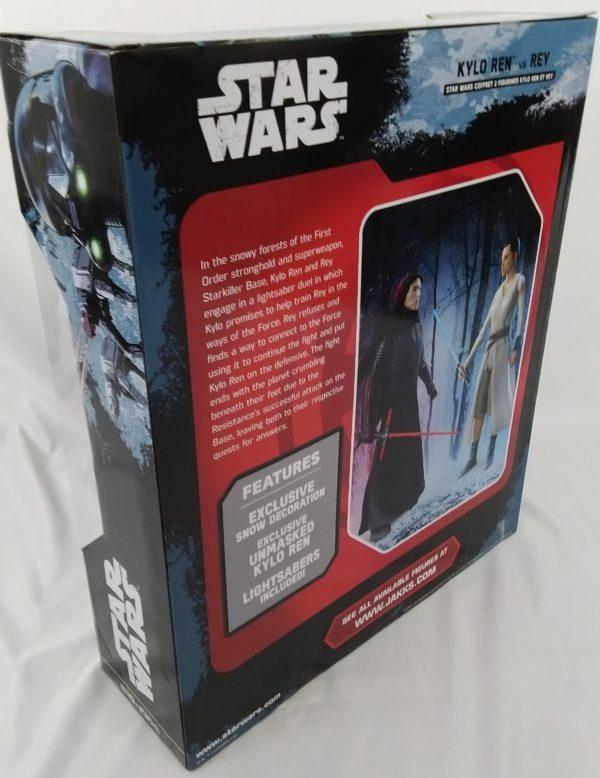 Figurine STAR WARS - Kilo Ren et Rey - Starkiller base showdown - big fig 46 cm