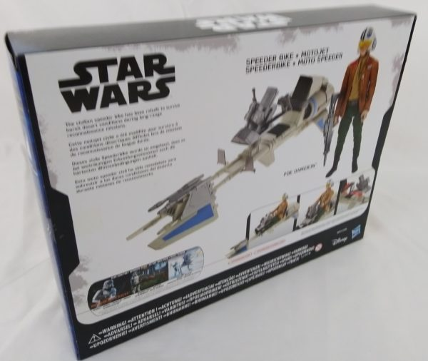 Figurine STAR WARS - Poe Dameron - Motojet - Hasbro