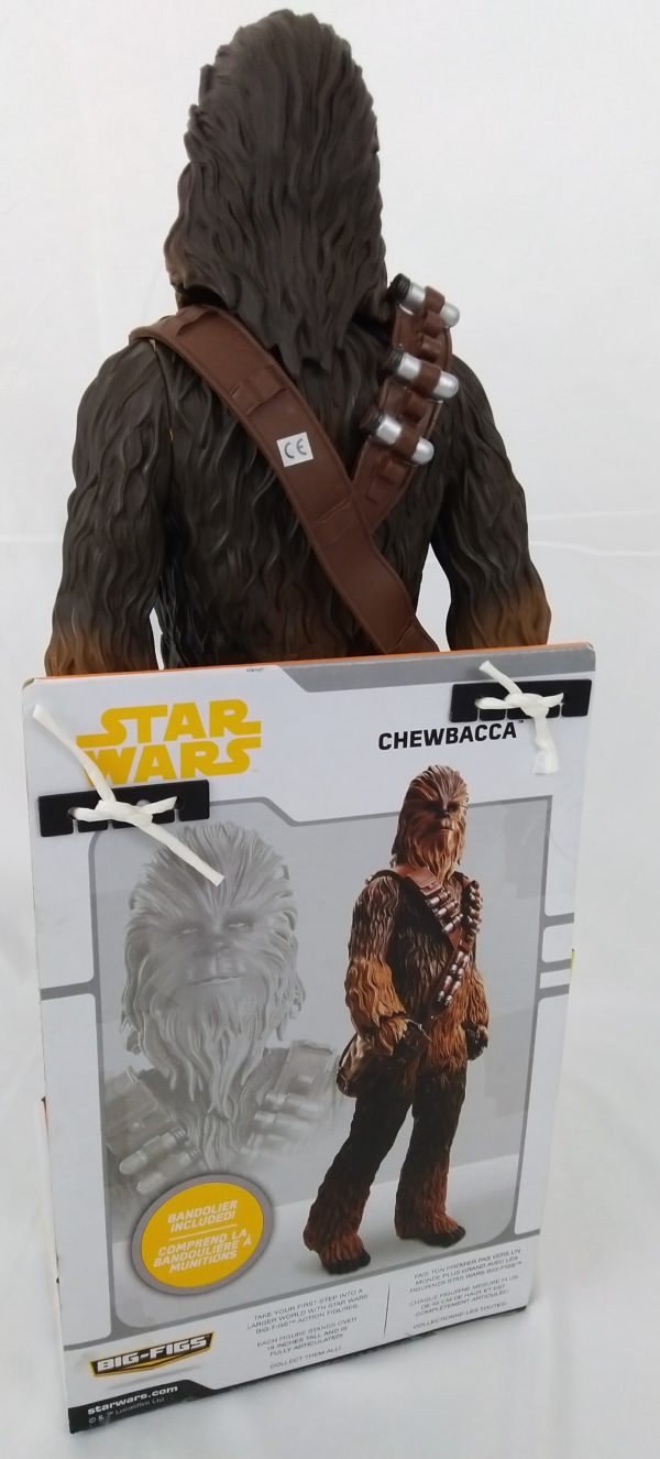 Figurine STAR WARS - CHEWBACCA - Solo - big fig 50 cm