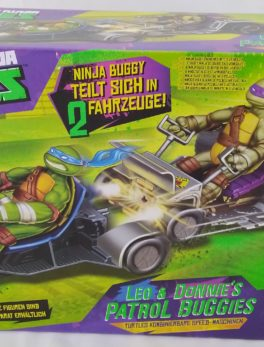 Tortue Ninja Teenage Mutant - Léo et Donnie's Patrol bugguies