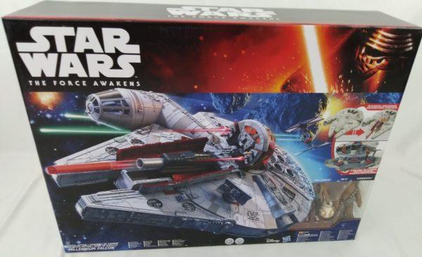 Star Wars The Force Awakens Battle Action Millennium Falcon - HASBRO