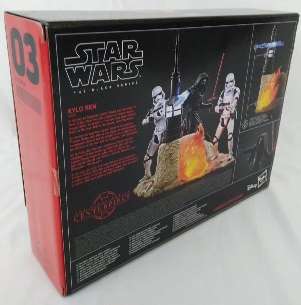 Figurine STAR WARS - KYLO REN - Hasbro 6 Black Series 6 Centerpiece