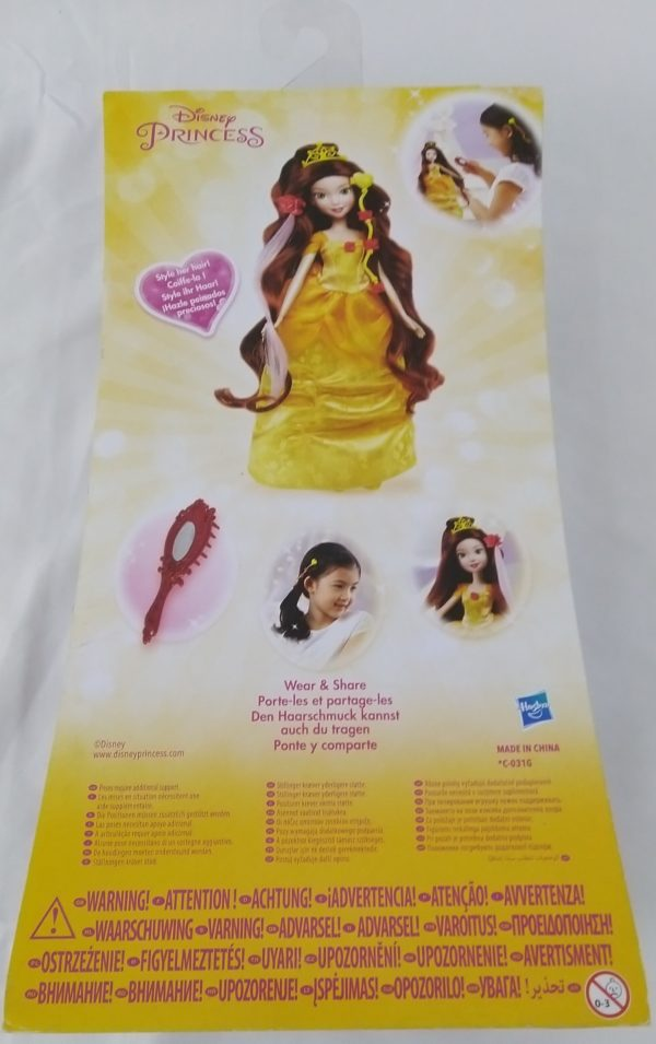 Disney princesse - Belle - Chevelure de rêve