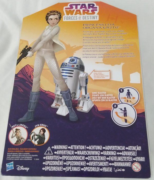 Figurine Star Wars - Princess Leia ORGANA et R2D2