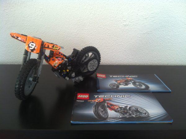 LEGO TECHNIC - 42007 - Moto cross