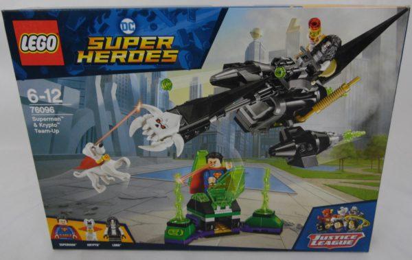 LEGO Super Héros - Justice league - N° 76096 - L'union de Superman et Krypto