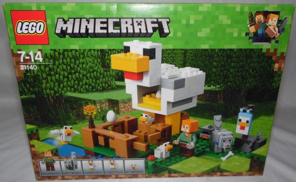 LEGO Minecraft - N° 21140 - Le poulailler