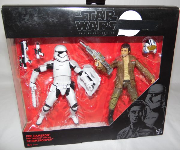 Figurine Black series - Star Wars - POE DAMERON vs STORMTROOPER
