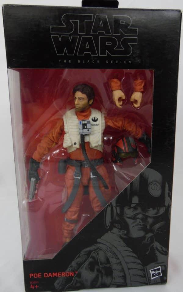 Figurine Black series - Star Wars - N°7 - POE DAMERON