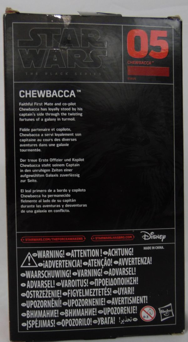 Figurine Black series - Star Wars - N°5 - CHEWBACCA