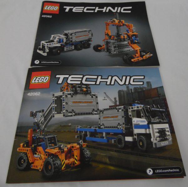 LEGO TECHNIC - 42062 - Le Transport de conteneur