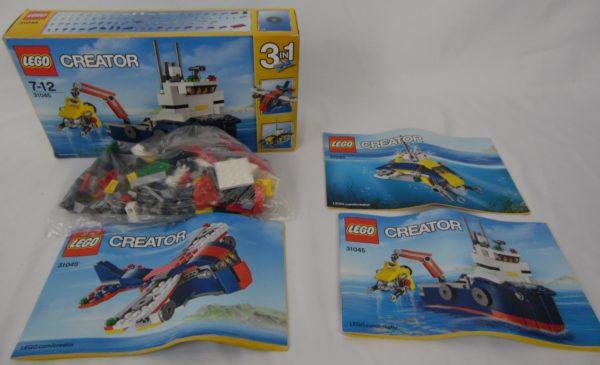 LEGO CREATOR - N° 31045 - L'explorateur d'océan