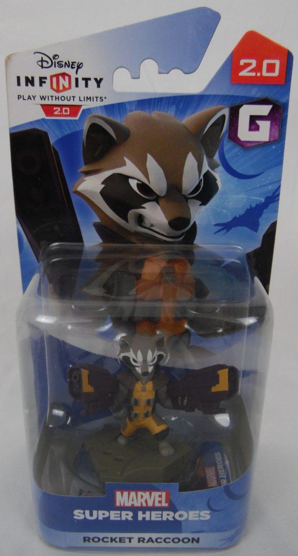 Figurine Disney Infinity - Marvel - Rocket Raccon 2.0