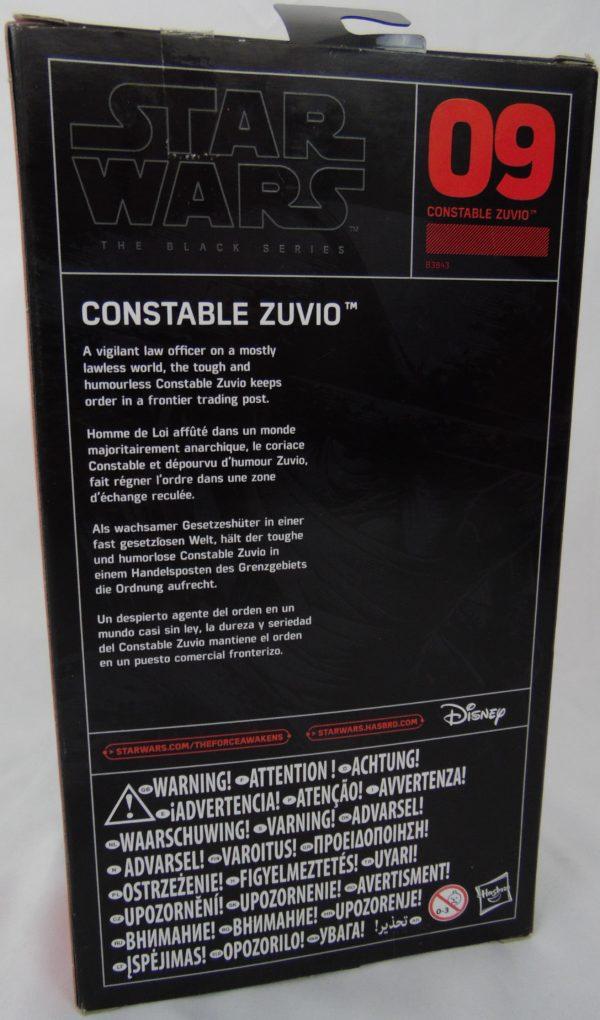 Figurine Black series - Star Wars - N°9 - CONSTABLE ZUVIO
