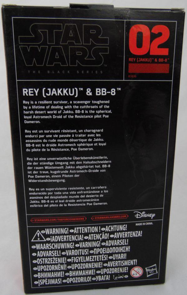 Figurine Black series - Star Wars - N°02 - REY et BB8 ( JAKKU)