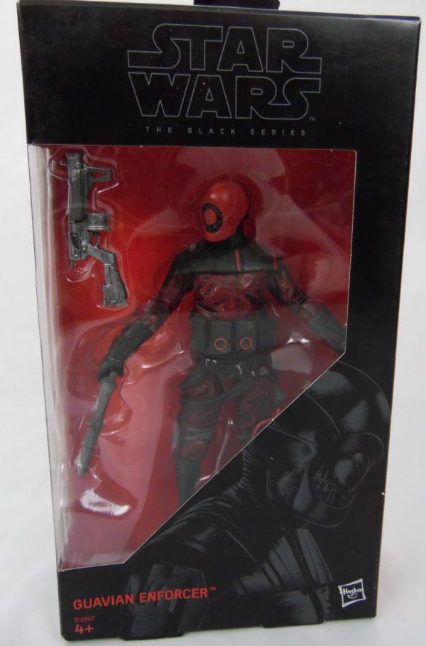 Figurine Black series - Star Wars - N°08 - GUAVIAN ENFORCER