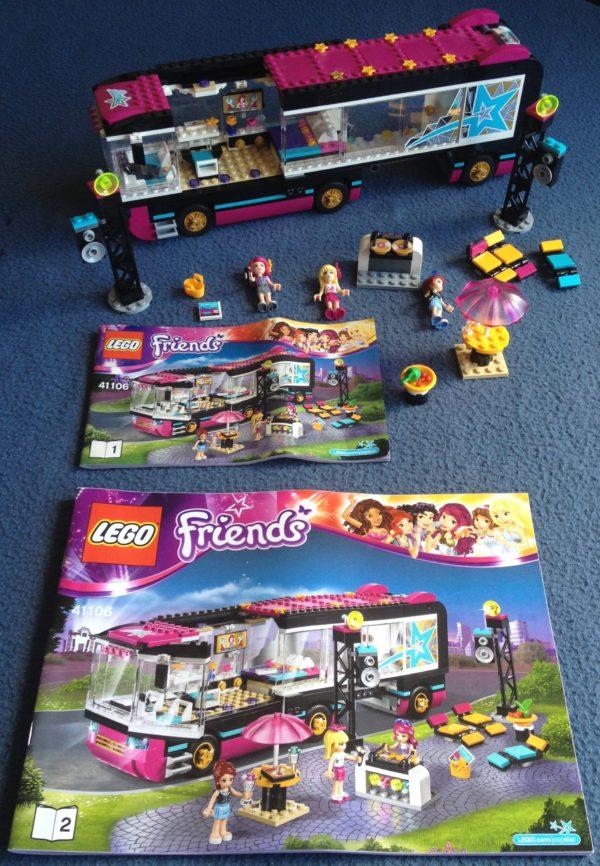 LEGO Friend's - N°41106 - Tournée en bus