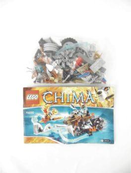 LEGO CHIMA - N°70220 - La moto sabre