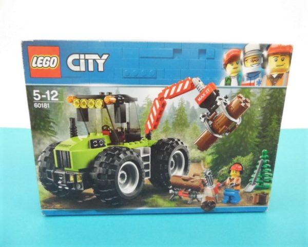 LEGO City - N°60181 - Le tracteur forestier