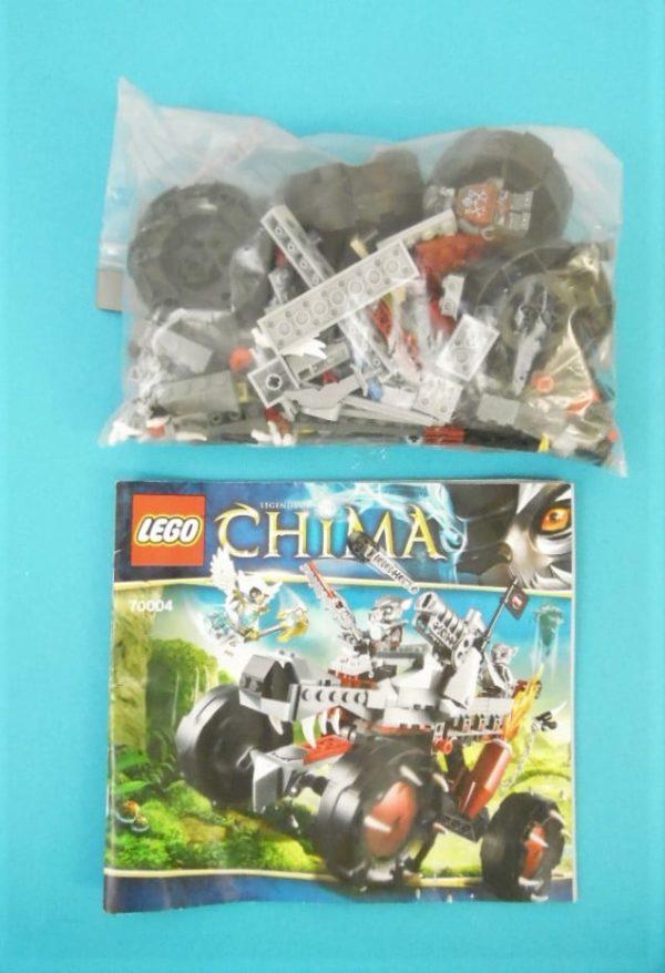 LEGO CHIMA - N°70004 - Le tout terrain loup Waqz