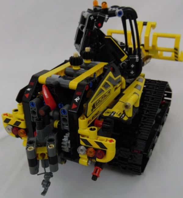 LEGO TECHNIC - 42094 - Chargeuse sur chenilles