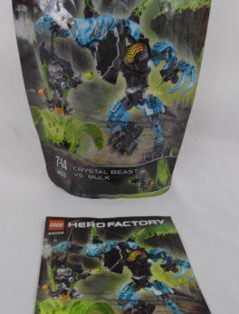 LEGO Hero Factory - N° 44026 - Crystal Beast vs Bulk