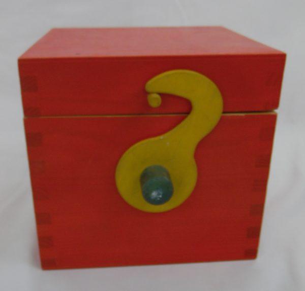 boite arlequin sur ressort