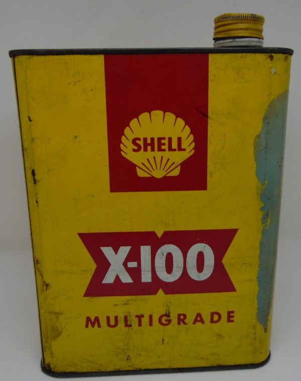 Bidon Shell - X100 Multigrade - 2 Litres