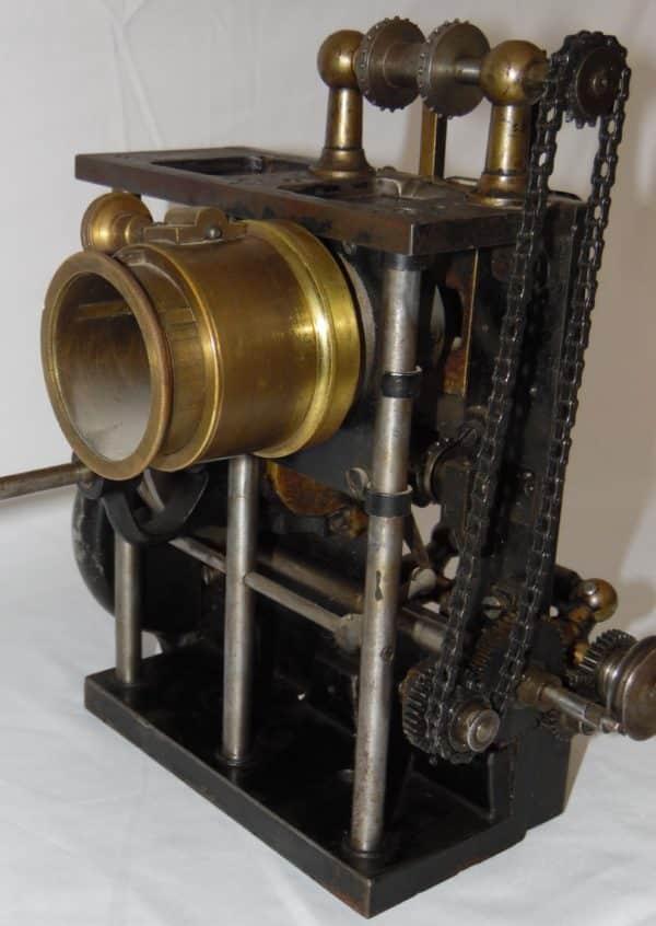 Projecteur cinéma ancien - Pathé renforcé - BECKER Type ABR