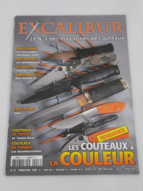 Magazine Excalibur - N°53 - juin 2009