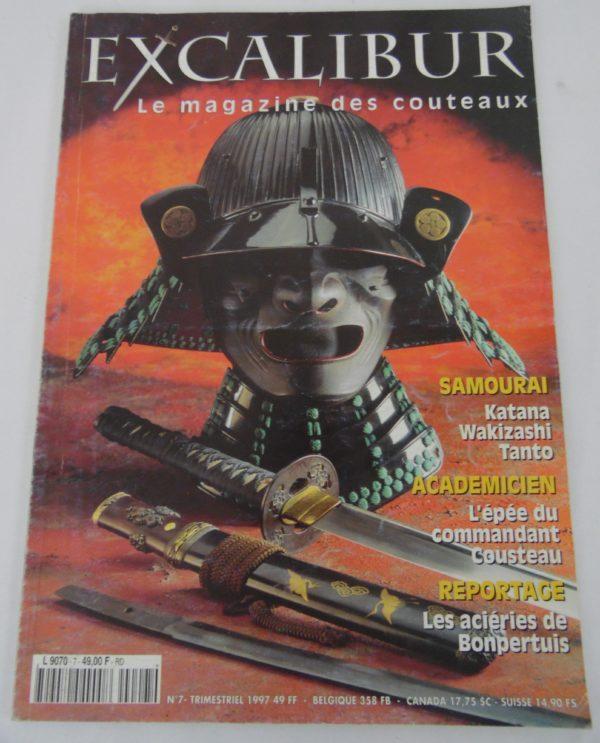 Magazine Excalibur - N°7 - décembre 1997