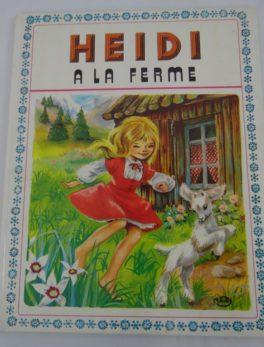 Livre Heidi - A la ferme - 1973