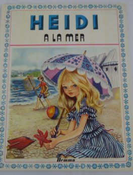 Livre Heidi - A la mer - 1978
