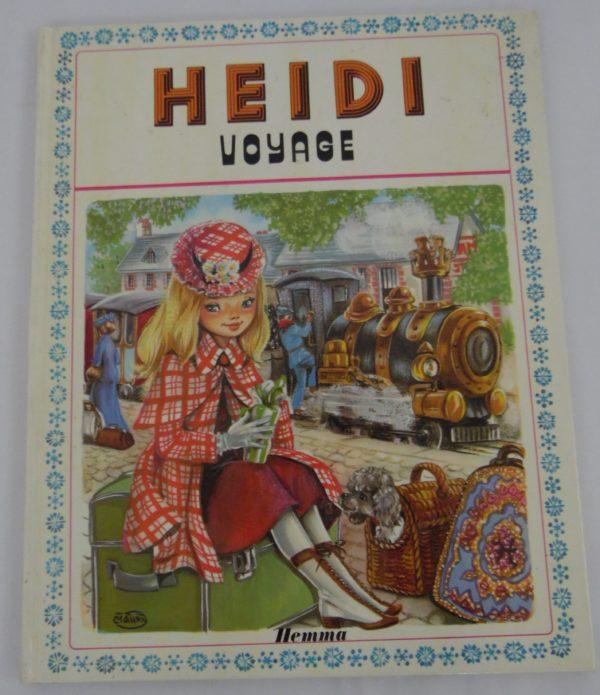Livre Heidi - Voyage - 1977