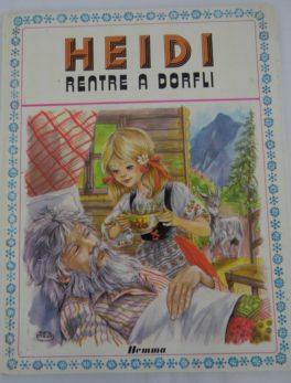 Livre Heidi - Rentre à Dorfli - 1979