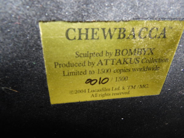 Figurine Attakus 1/5 - Star Wars - Chewbacca - 42 cm - N°10/1500