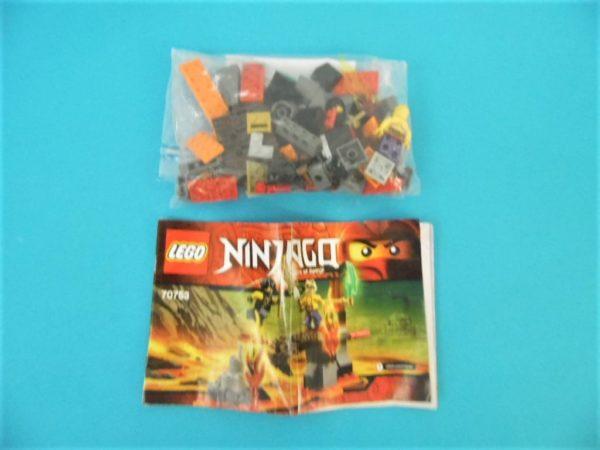 LEGO Ninjago - N°70753 - Chutes de lave