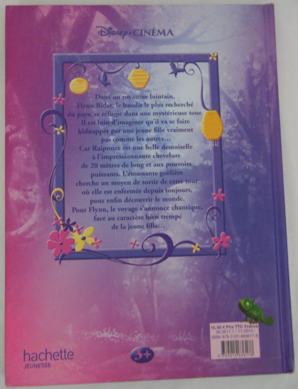 Livre Disney - Raiponce - Hachette - 2010