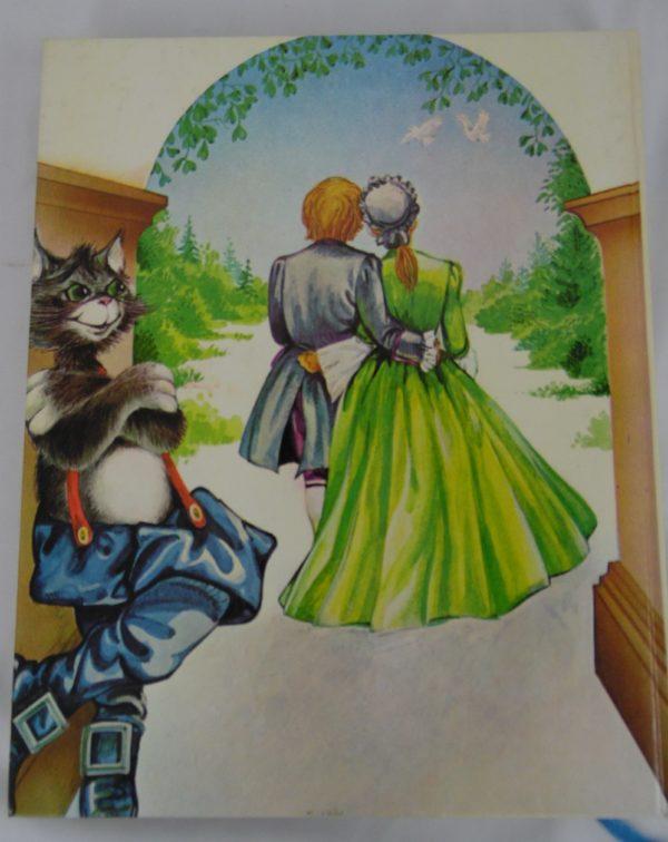 Livre contes des mille et une images - le chat botté et autres comptes merveilleux - 1980