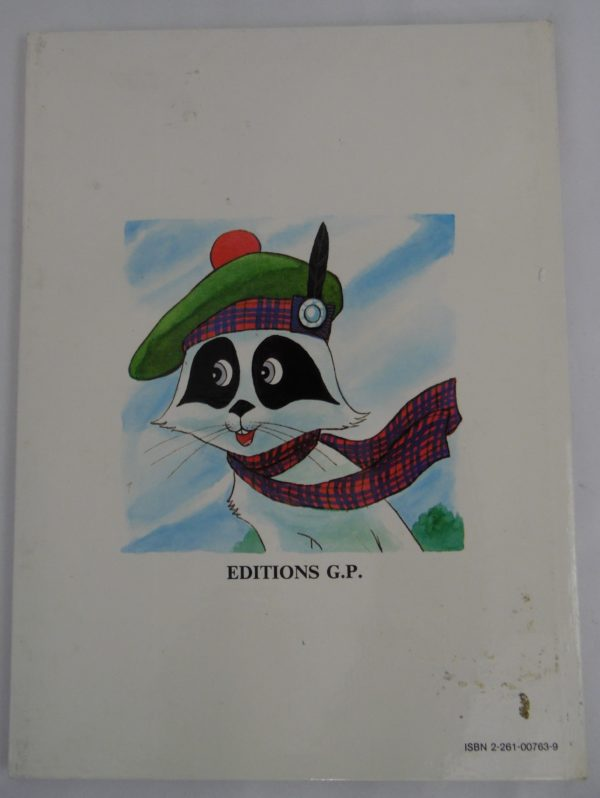 Livre Candy - En écosse - 1980