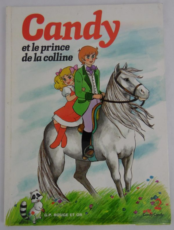 Livre Candy - Et le prince de la colline - 1980
