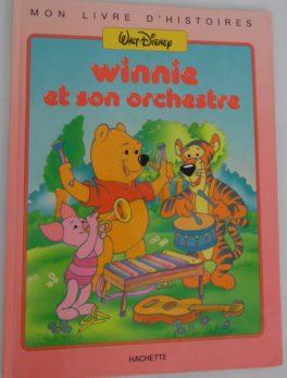 Livre Winnie l'ourson - 1987 - Winnie et son orchestre
