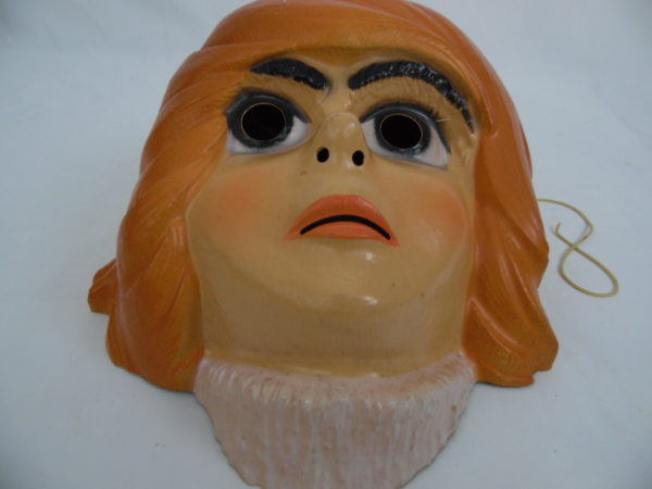 Masque césar - 1978 - Ramis - Albator le corsaire de l'espace - Namco - 0371/3