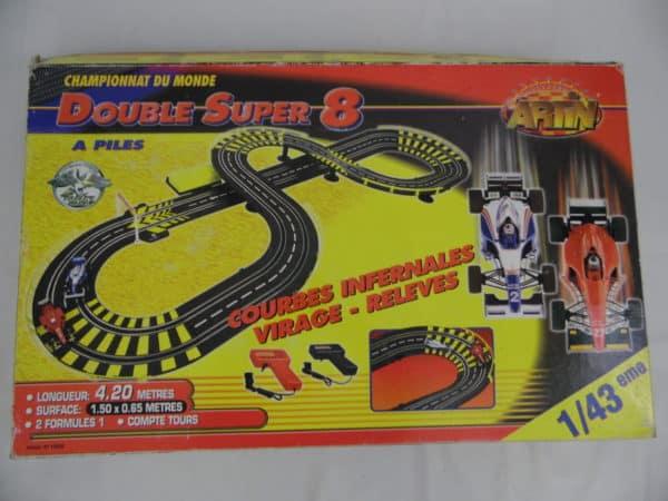 Circuit voiture - Artin - 1/43 ème - Double Super 8