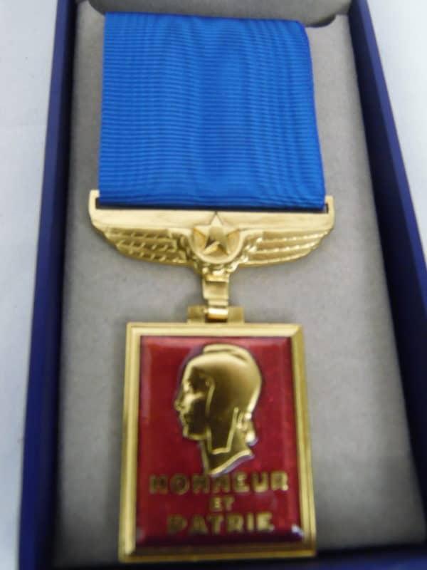 Médaille militaire Aéronautique - Honneur et patrie - Monnaie de Paris