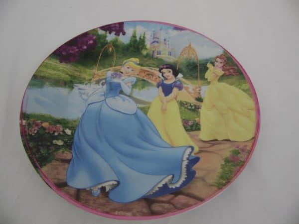 Assiette Princesse Disney - Storline - Blanche Neige / Cendrillon / Belle