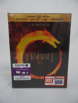 DVD Blu-Ray Le Hobbit 3D - La trilogie